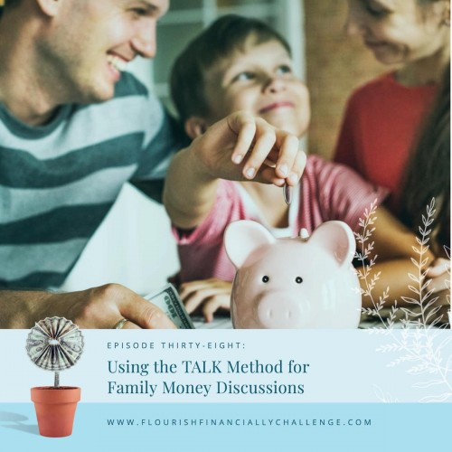 Episode 38: Using the TALK Method for Family Money Discussions