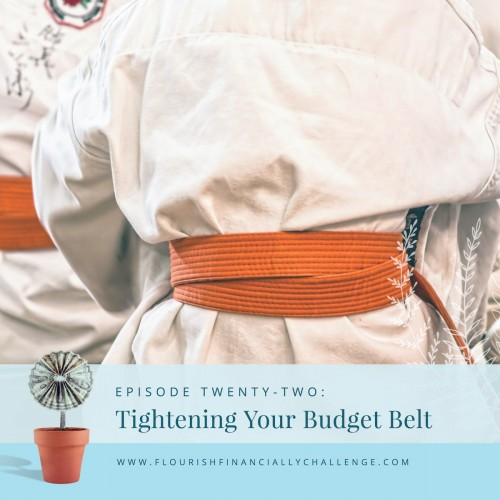 Episode 22: Tightening Your Budget Belt